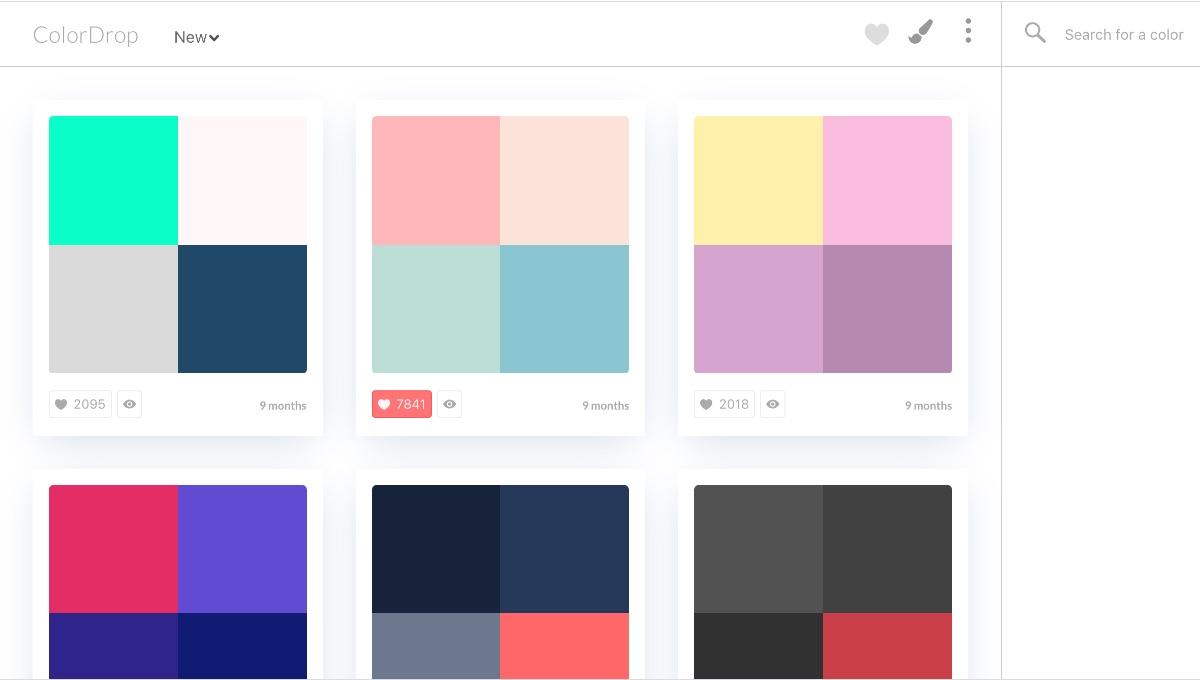 サイト名colordrop