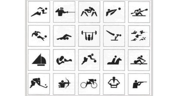 東京オリンピックのピクトグラム